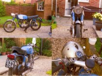 Ducati 250 before